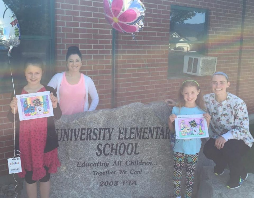 Children's Denta; Village Coloring Contest Winners