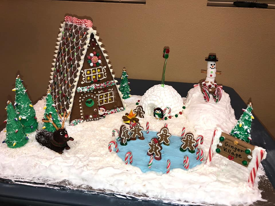 Gingerbread House and Icing